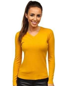 Bolf Damen Pullover Gelb  AL0204L