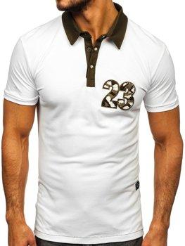 Bof Herren Poloshirt Weiß  2058