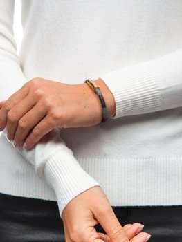 Bolf Damen Armband Braun  B031