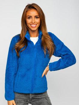 Bolf Damen Fleece Jacke Blau  HH006