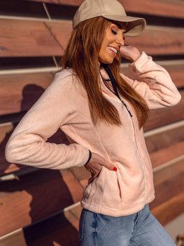 Bolf Damen Fleece Sweatshirt Hellrosa  HH002