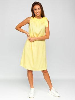 Bolf Damen Kleid Gelb  9785