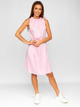 Bolf Damen Kleid Rosa  9785