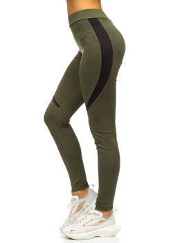 Bolf Damen Leggings Grün  Z002
