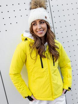 Bolf Damen Winterjacke Skijacke Gelb  HH012