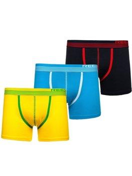 Bolf Herren Boxershorts Mehrfarbig-1 G513 3 PACK