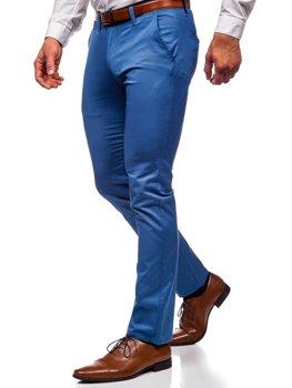Bolf Herren Hose Chino Blau  KA1786P