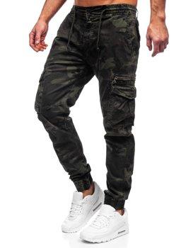 Bolf Herren Hose Jogger Pants Cargohose Grün CT6026S0
