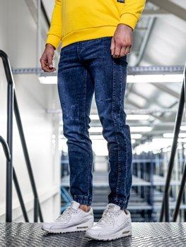 Bolf Herren Jeans Jogger Dunkelblau  HY562