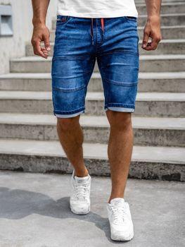 Bolf Herren Jeans Shorts Duneklblau  HY655