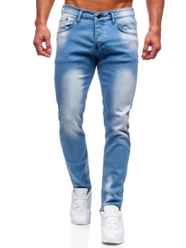 Bolf Herren Jeanshose regular fit  Blau  R915