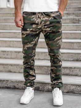 Bolf Herren Jogger Pants Camo Khaki  RB8213XT