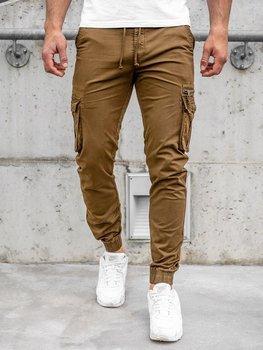 Bolf Herren Jogger Pants Cargohose Braun  CT6702