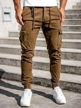 Bolf Herren Jogger Pants Cargohose Braun  CT6705
