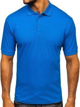 Bolf Herren Poloshirt Blau  171221