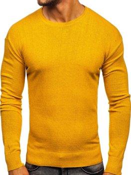 Bolf Herren Pullover Gelb  0001