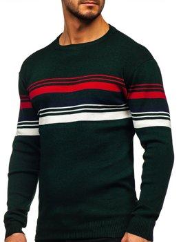 Bolf Herren Pullover Grün  H2061