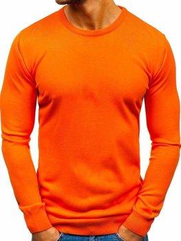 Bolf Herren Pullover Orange  2300