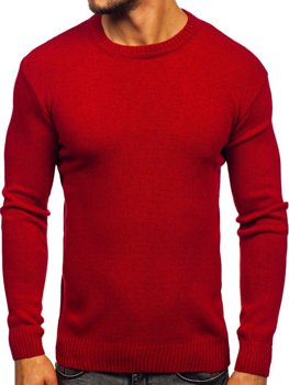 Bolf Herren Pullover Rot  0001