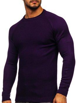 Bolf Herren Pullover Violett  1009