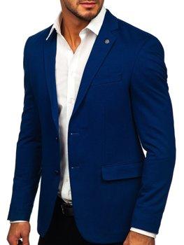 Bolf Herren Sakko Elegant Blau  C191060