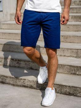 Bolf Herren Shorts Blau 1140