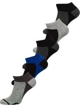 Bolf Herren Socken Mehrfarbig  X10083-5P 5 PACK