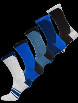 Bolf Herren Socken Mehrfarbig  X10137-5P 5 PACK