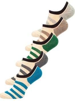 Bolf Herren Socken Mehrfarbig X10169-5P 5er PACK