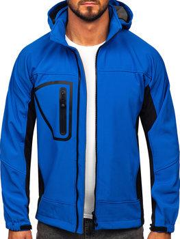 Bolf Herren Softshell Jacke Blau  T019