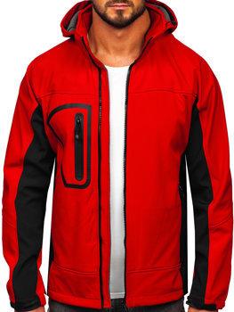 Bolf Herren Softshell Jacke Rot  T019