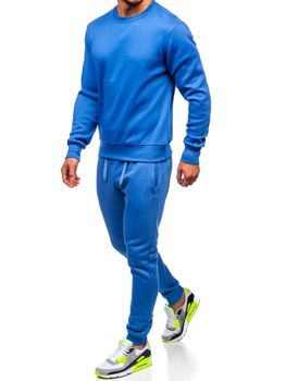 Bolf Herren Sportanzug Blau  D001