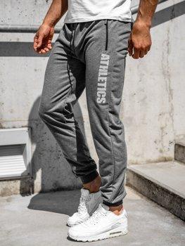 Bolf Herren Sporthose Grau  CE010