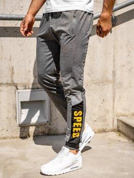 Bolf Herren Sporthose Jogger Pants Grau  HY717