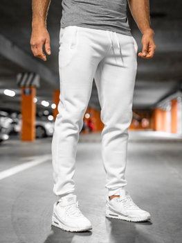 Bolf Herren Sporthose Weiß XW01