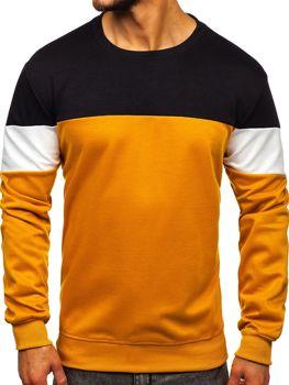 Bolf Herren Sweatshirt ohne Kapuze  JZ11053