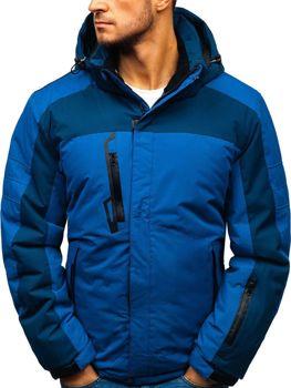 Bolf Herren Winterjacke Skijacke Blau  HZ8112