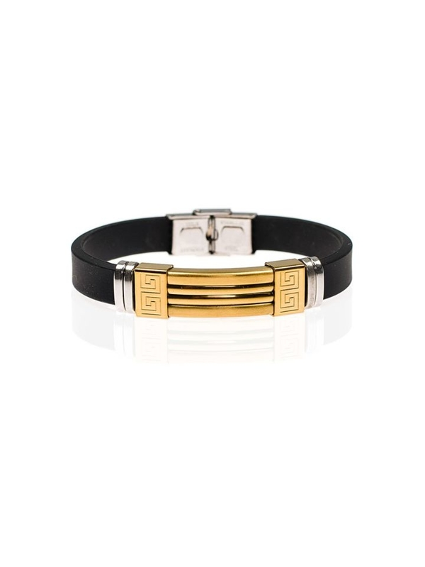 Bolf Herren Armband Schwarz B048