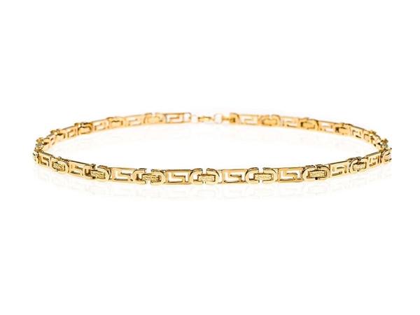 Bolf Herren Halskette Gold L001