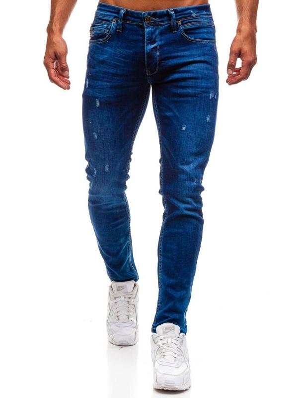 Bolf Herren Jeanshose Blau  0671