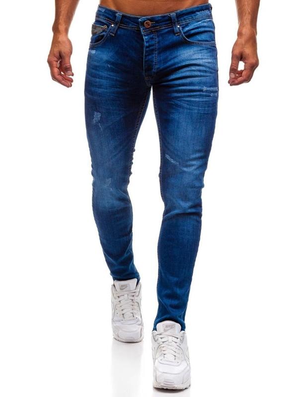 Bolf Herren Jeanshose Blau  1308