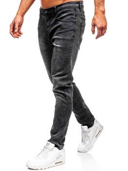 Bolf Herren Jeanshose Schwarz  KX237