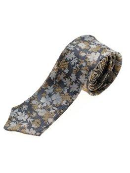 Bolf Herren Krawatte Elegant Dunkelblau  K109