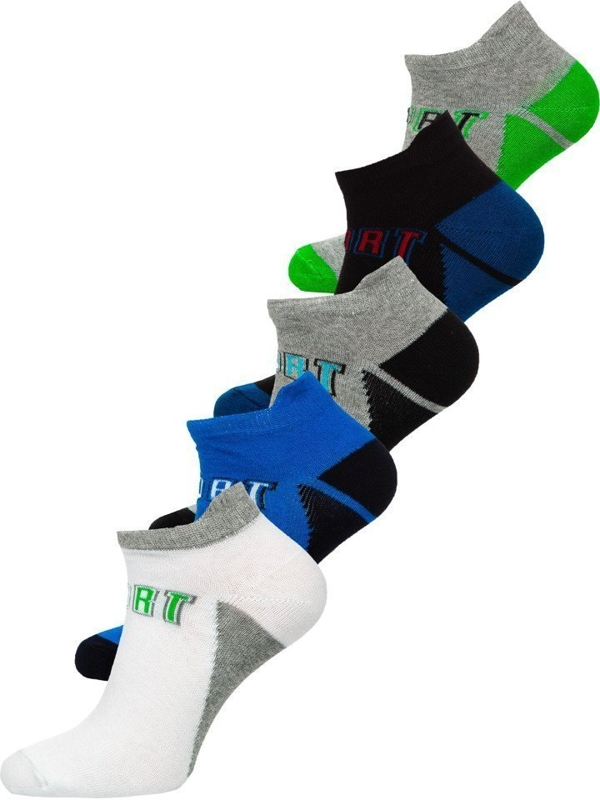 Bolf Herren Socken Mehrfarbig  X10033-5P 5 PACK