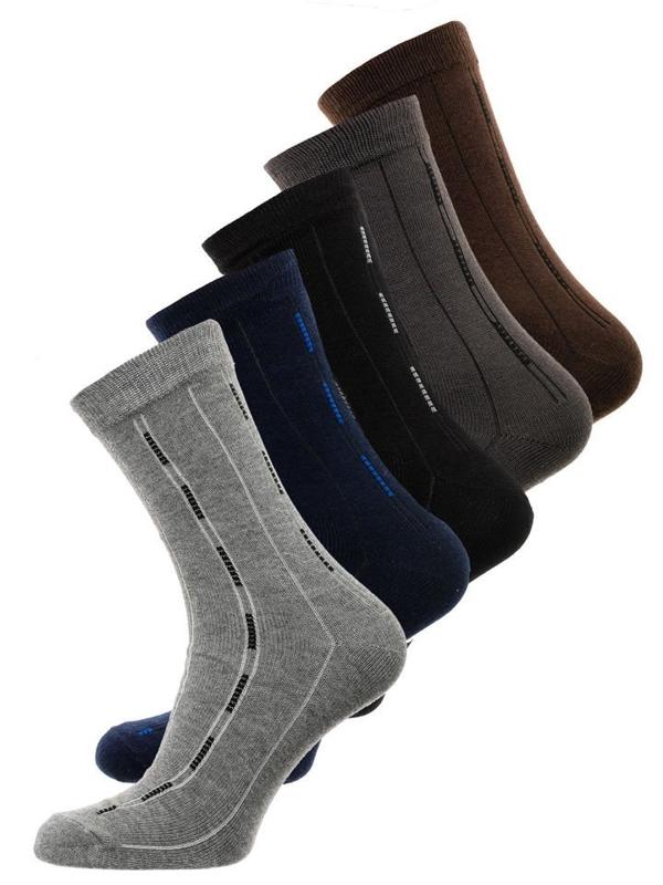 Bolf Herren Socken Mehrfarbig  X10072-5P 5 PACK