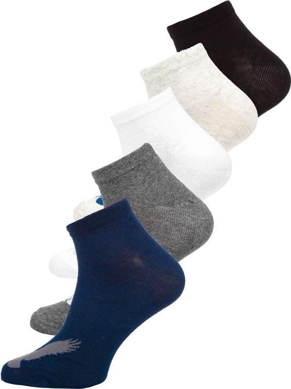 Bolf Herren Socken Mehrfarbig X10171-5P 5er PACK