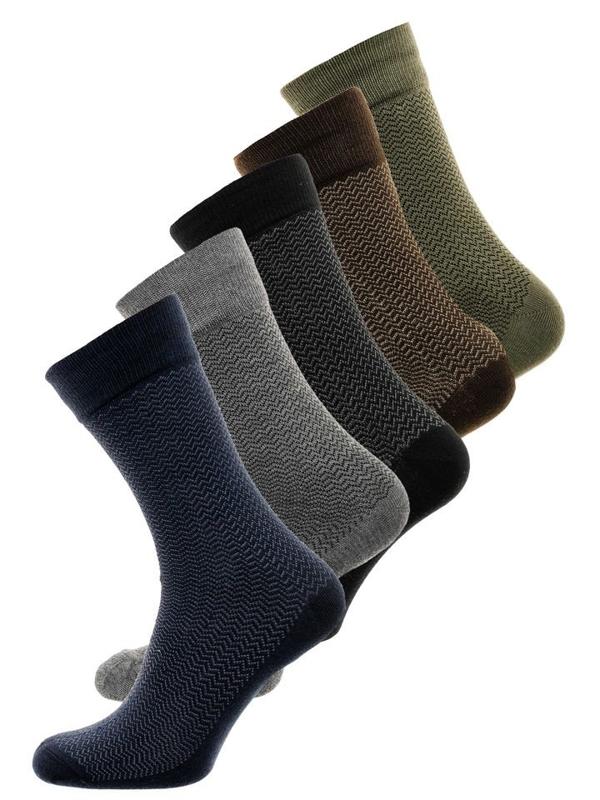 Bolf Herren Socken Mehrfarbig  X18001-5P 5 PACK