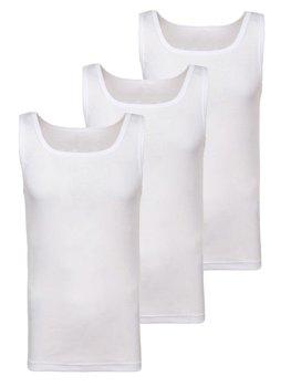 Bolf Herren Unterhemd Weiß 3 Pack  C10049-3P
