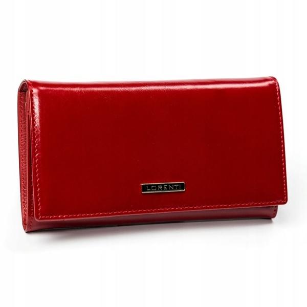 Damen Ledergeldbörse Rot 2899