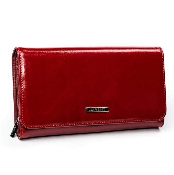 Damen Ledergeldbörse Rot 2900